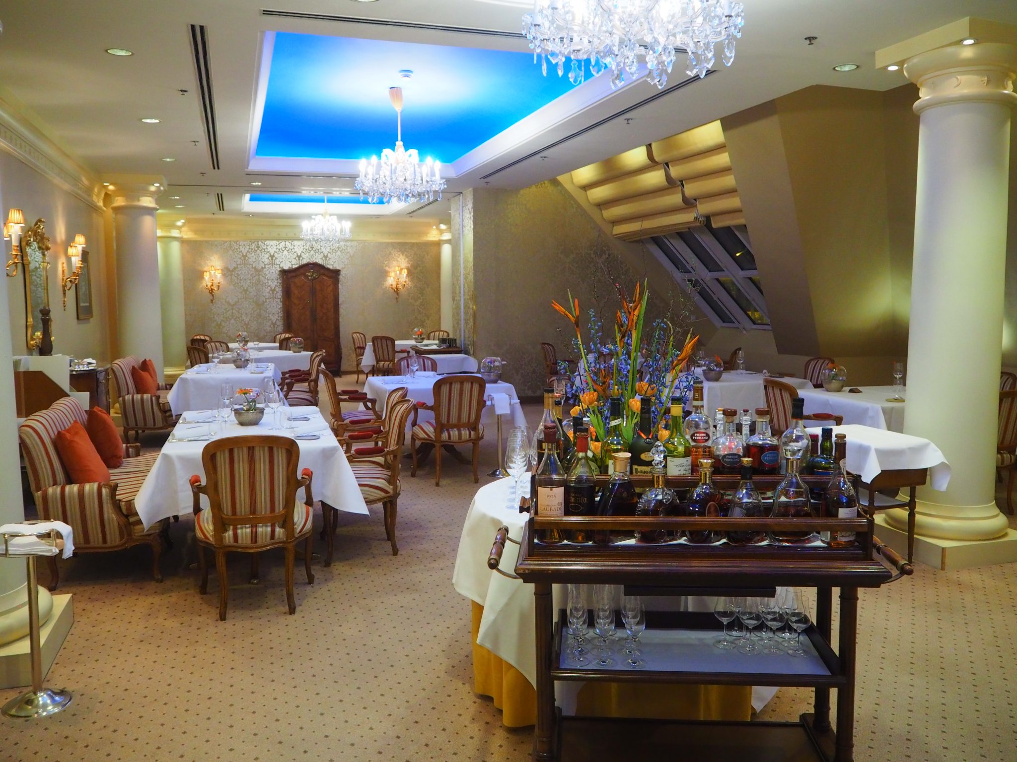 Michelin Dinner At Restaurant Le Ciel Vienna Grand Hotel Wien Review